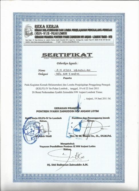 original images and post about Contoh Piagam Penghargaan Sertifikat ...